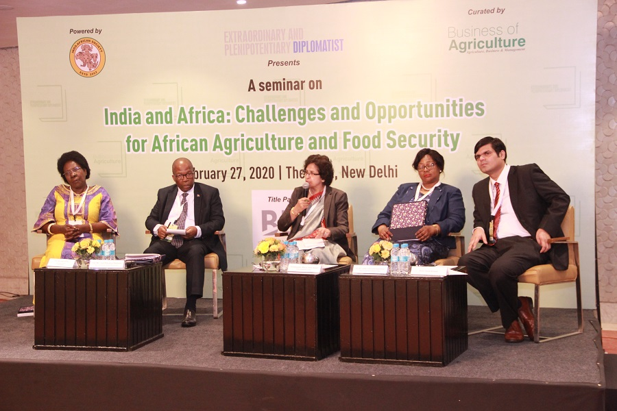 India and Africa: Challenges and Opportunities for African Agriculture and Food Security